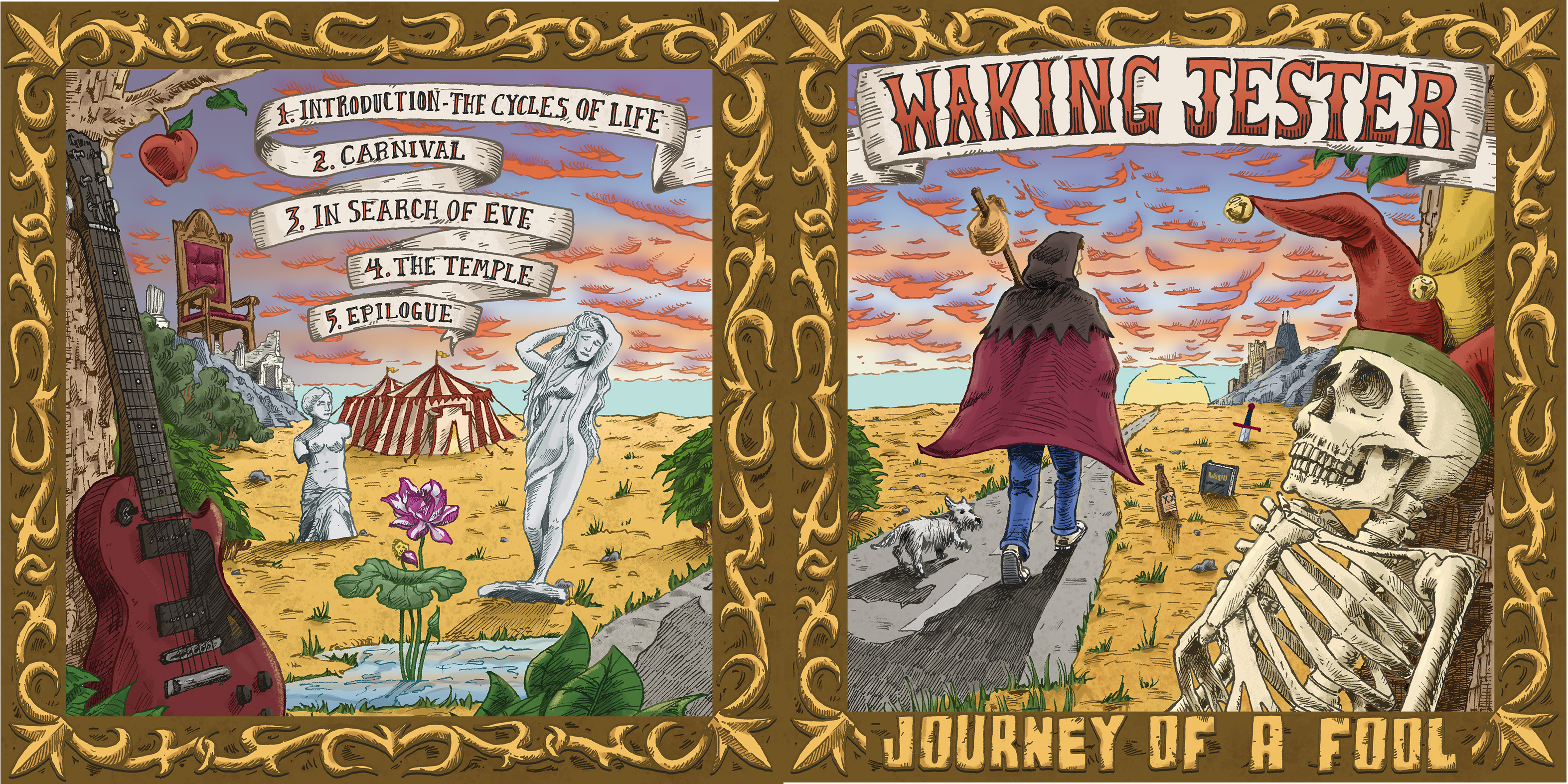 WJ Journey Album Front Spread
